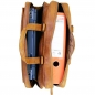 Braune Laptoptasche Leder Laptopfach 5