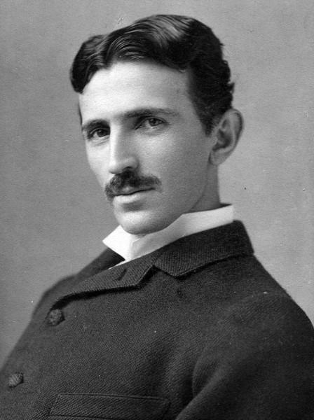 Portrait Nikola Tesla
