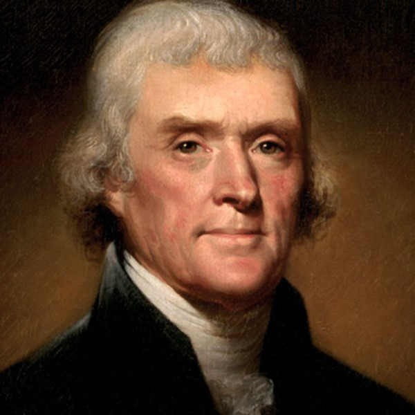 Portrait Thomas Jefferson