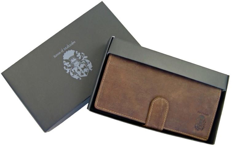 Portemonnaie Herren Leder Geschenkverpackung