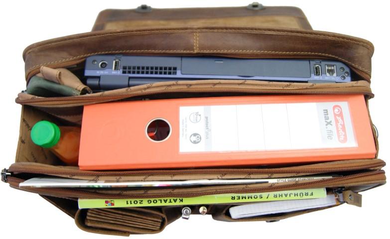Laptoptasche Herren 2-Fächer