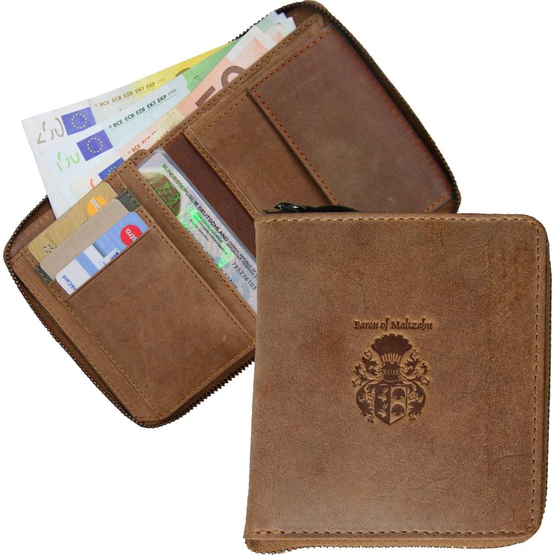 92556e33081b3 Vorschau  Herren Portemonnaie brraun ...