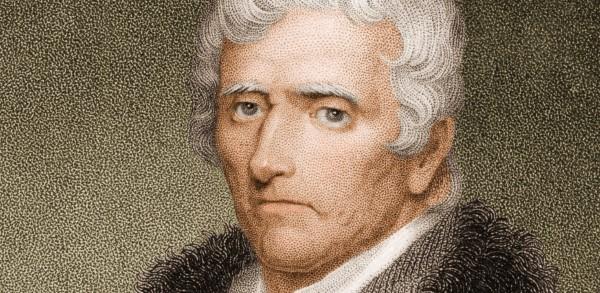 Portrait Daniel Boone