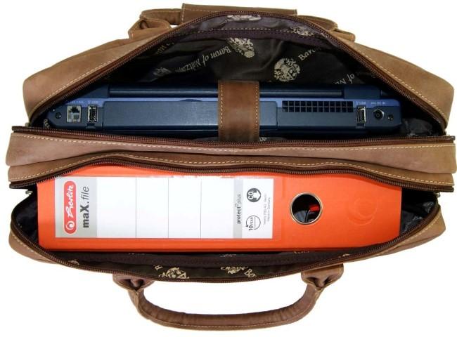 Laptoptasche herren 2-fächer laptop ordner 1440