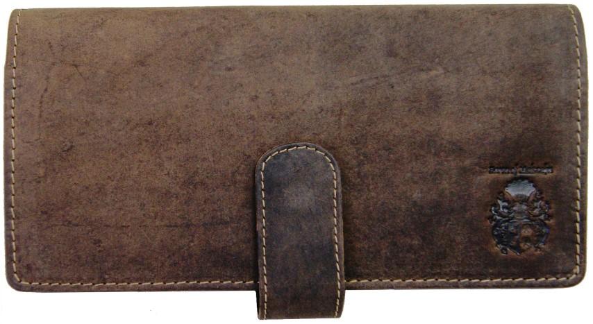 Portemonnaie Herren Leder braun