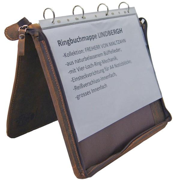 Konferenzmappen Ringbuchmappen Leder A4